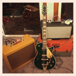 G6128TCG Duo Jet, Cadillac Green, Mojotone Tweed Deluxe and Mojotone Reverb