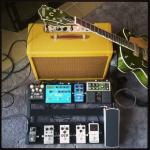 G6120SSU Brian Setzer Nashville w/ pedalboard and Mojotone Tweed Deluxe