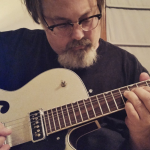 Silver Sparkle Electromatic G5126 and me