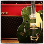 G6120SSU Brian Setzer Nashville w/ Vox AC30